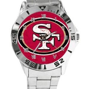 New men's 49er San Francisco watch